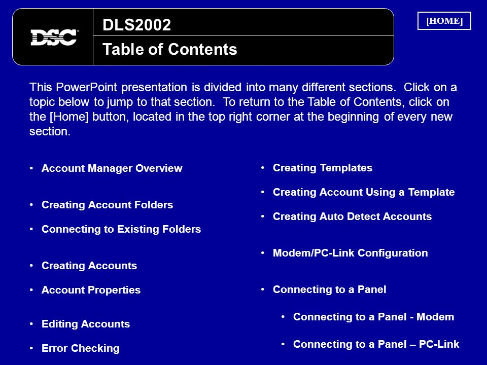 DLS2002 [HOME] Table of Contents.